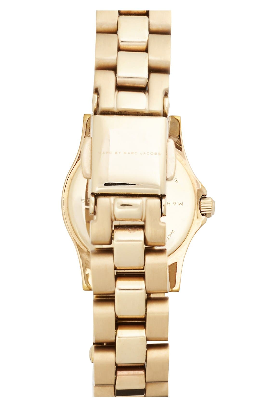 'Henry Dinky' Bracelet Watch, 20mm,                             Alternate thumbnail 2, color,                             Gold