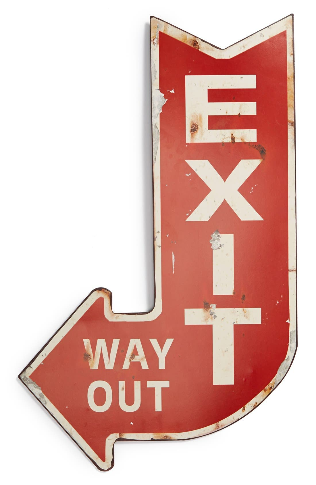 Main Image - Creative Co-Op 'Exit' Wall Sign