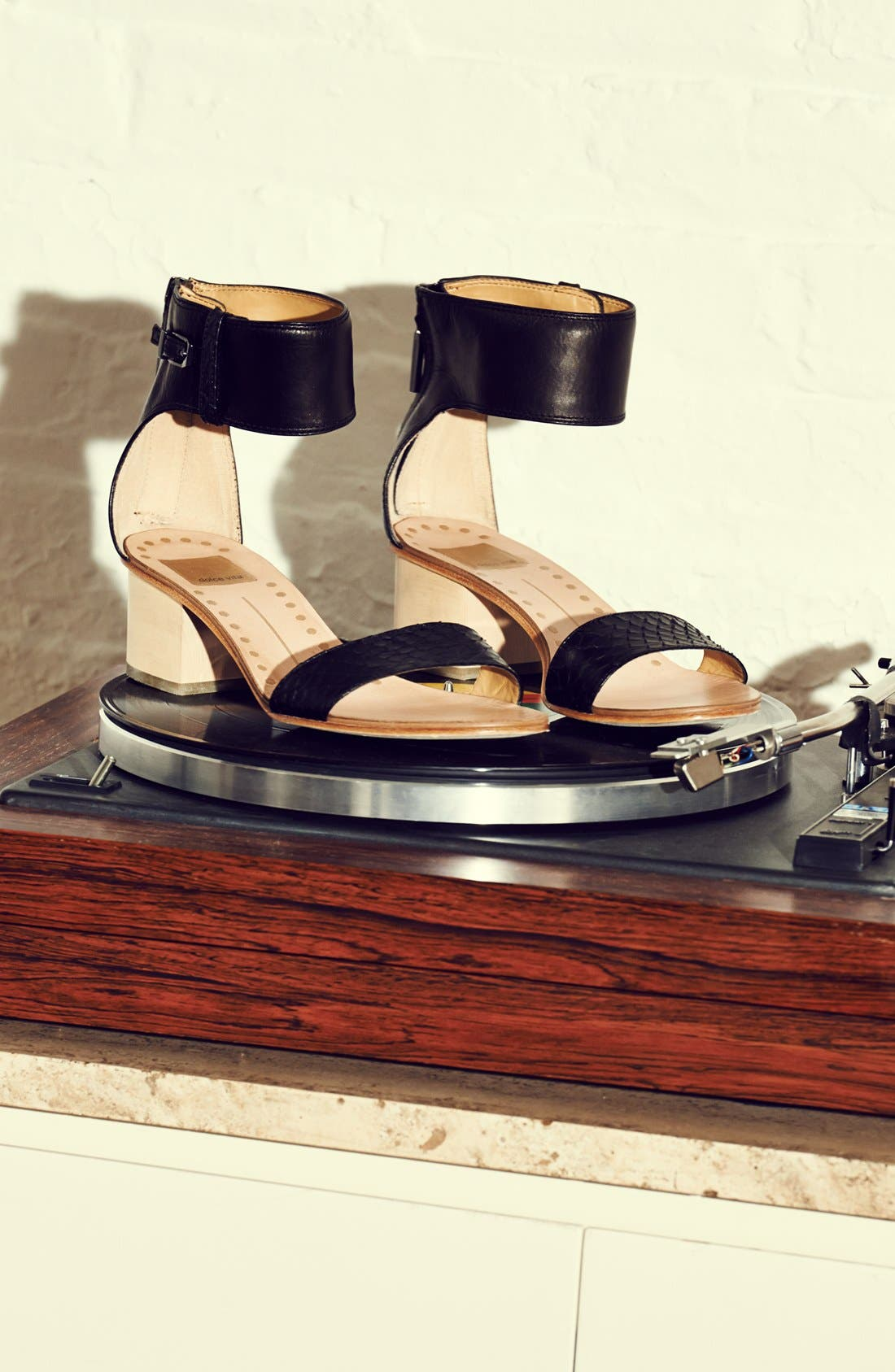 Alternate Image 5  - Dolce Vita 'Foxie' Snakeskin & Leather Sandal