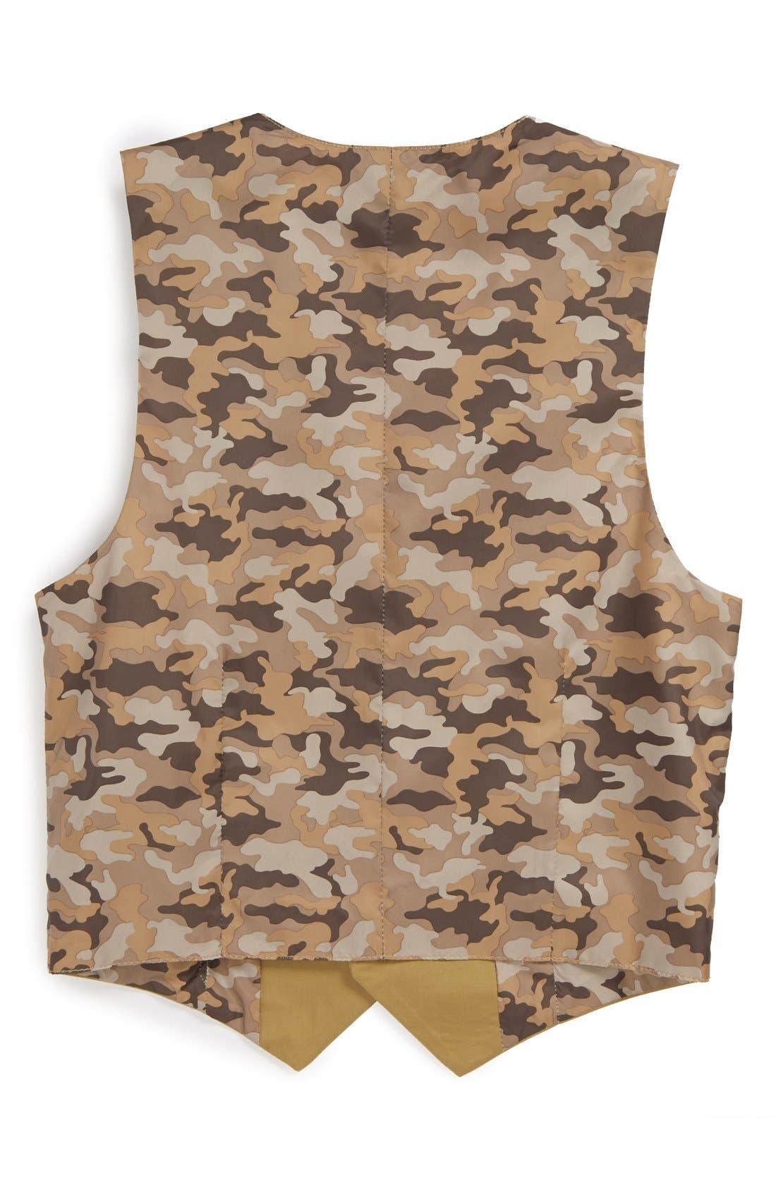 Alternate Image 2  - C2 by Calibrate 'Spencer' Stretch Cotton Vest (Big Boys)