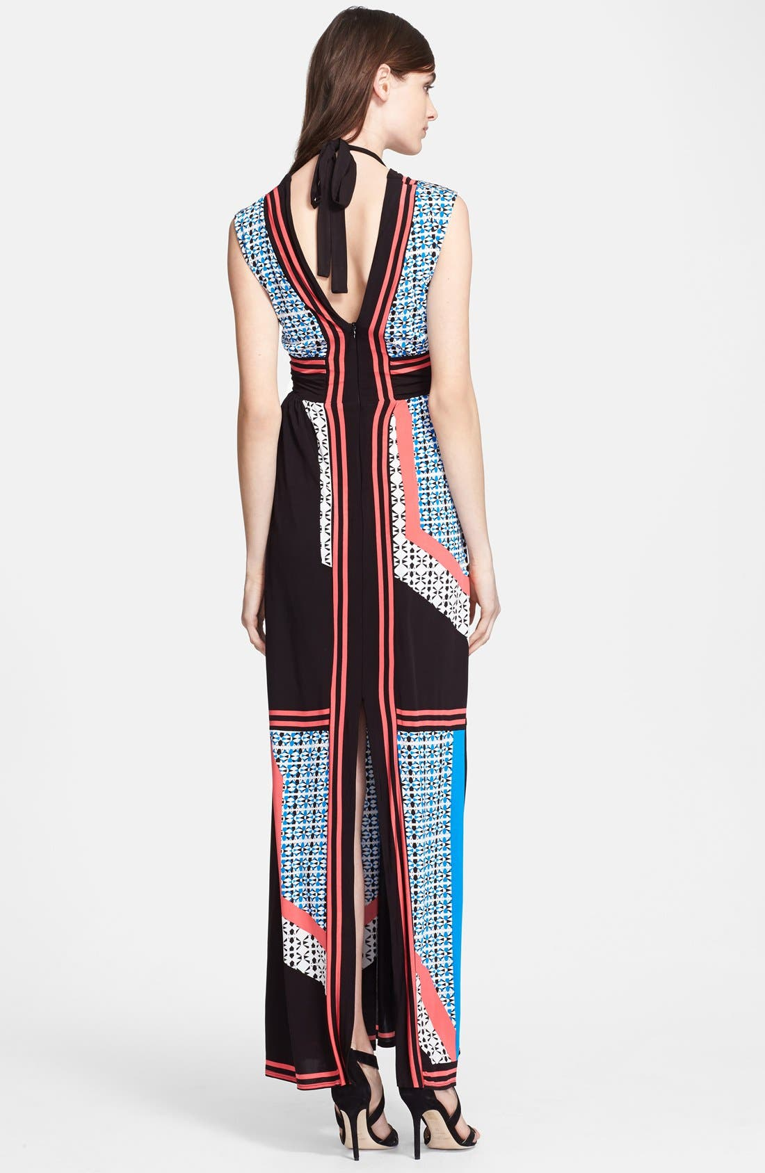 Alternate Image 2  - Tracy Reese Reversible Print Jersey Maxi Dress