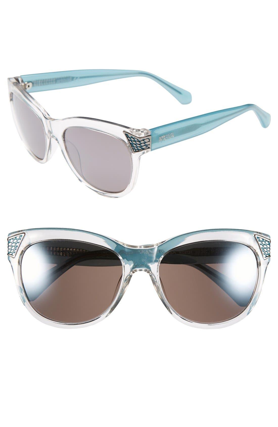Main Image - Kenneth Cole Reaction 56mm Retro Sunglasses