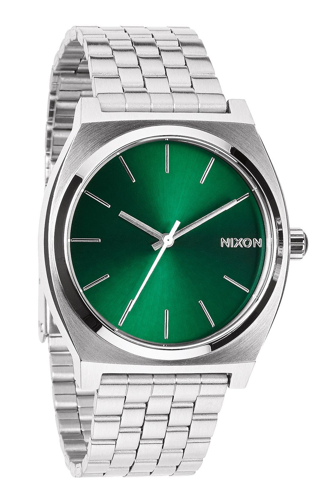 Alternate Image 4  - Nixon 'The Time Teller' Bracelet Watch, 37mm