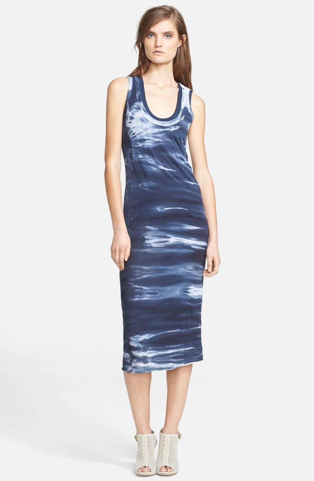 Main Image - Enza Costa Double Layer Midi Tank Dress