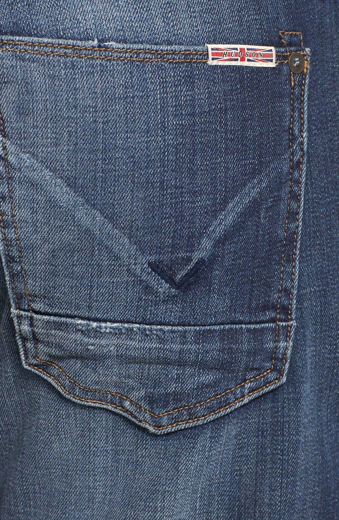 Alternate Image 4  - Hudson Jeans 'Byron' Straight Leg Jeans (Down South)