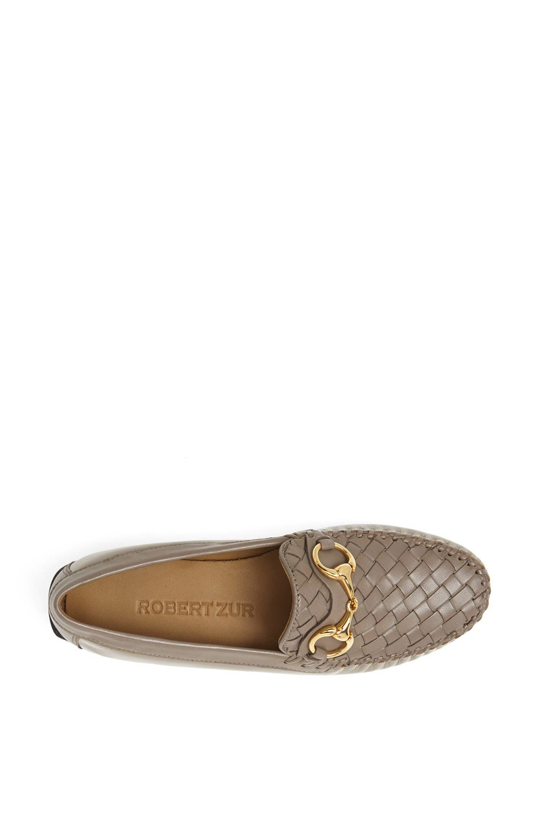 'Perlata' Loafer,                             Alternate thumbnail 3, color,                             Taupe Patent