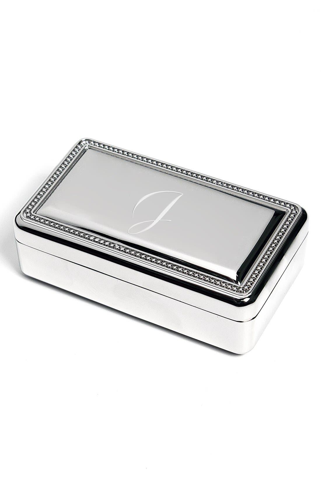 Cathy's Concepts Monogram Jewelry Box