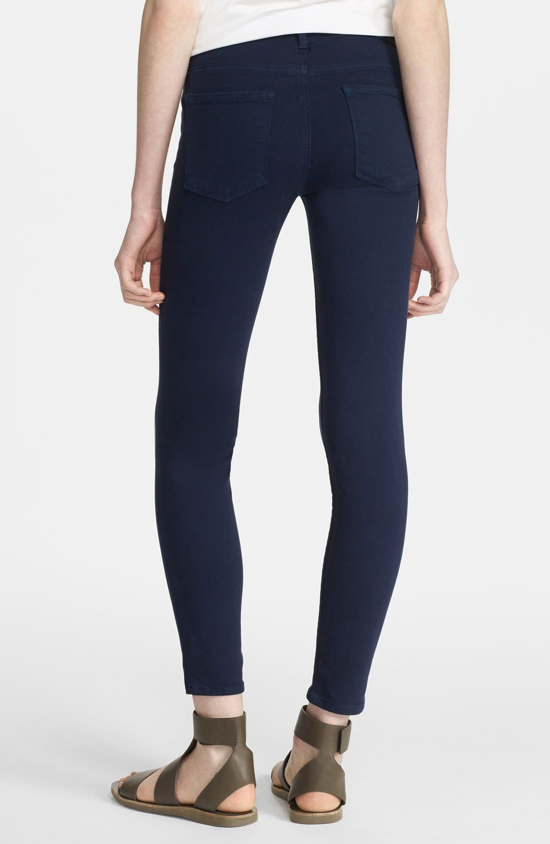 Alternate Image 2  - Vince Colored Ankle Stretch Skinny Jeans