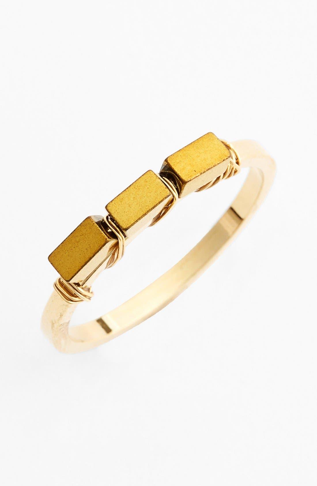 Alternate Image 1 Selected - Bonnie Jonas Square Bead Ring