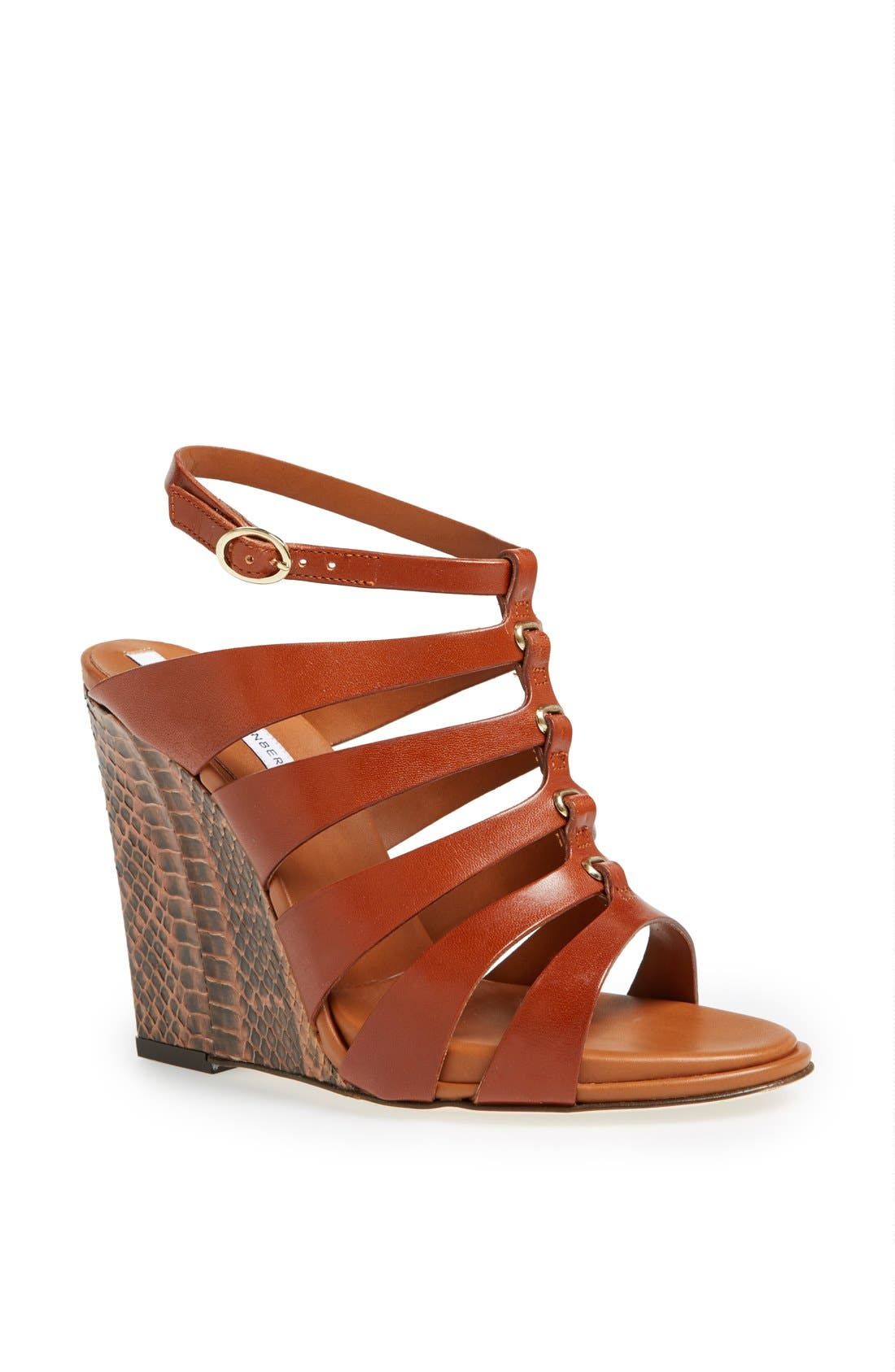 Alternate Image 1 Selected - Diane von Furstenberg 'Wave' Wedge Sandal