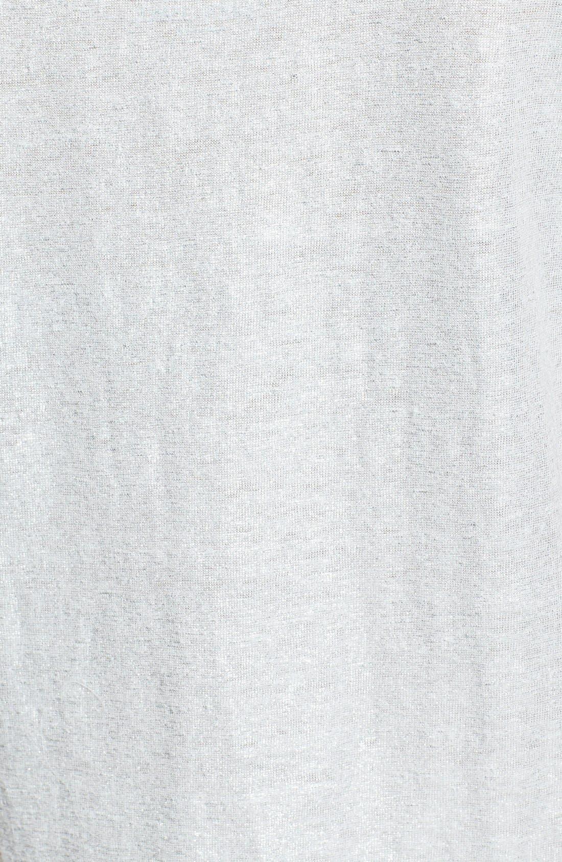 Alternate Image 3  - Eileen Fisher Slim Organic Linen Tank (Regular & Petite)