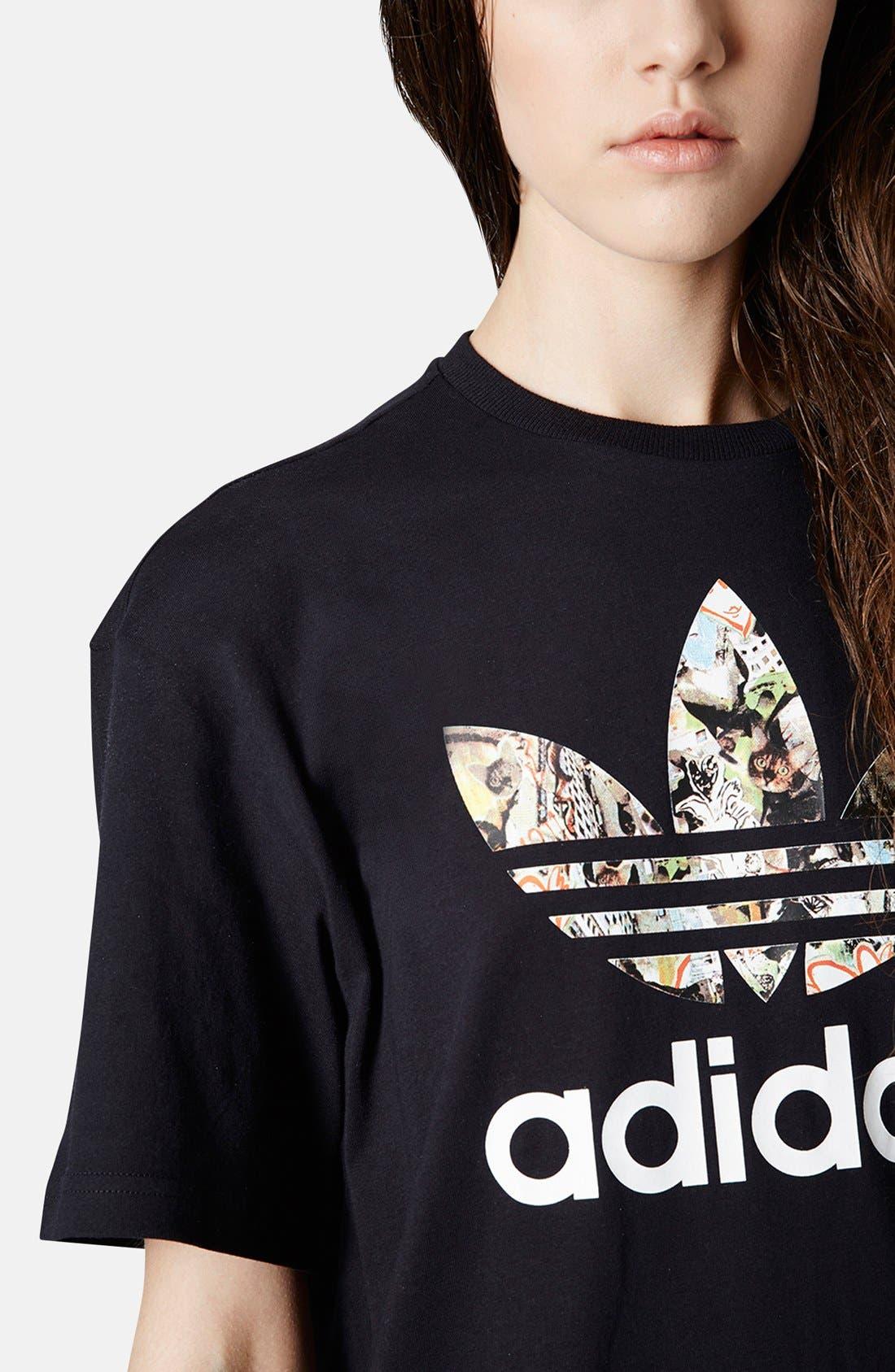 Alternate Image 3  - Topshop x adidas Originals Trefoil Tee