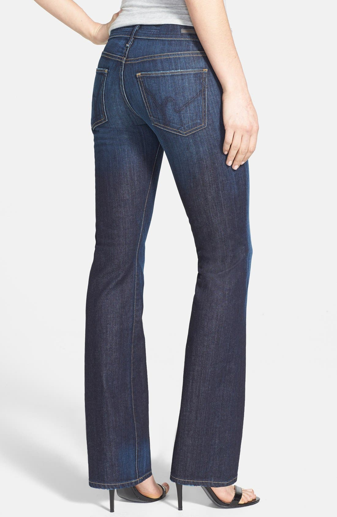 Alternate Image 2  - Citizens of Humanity 'Dita' Bootcut Stretch Jeans (New Pacific) (Petite)