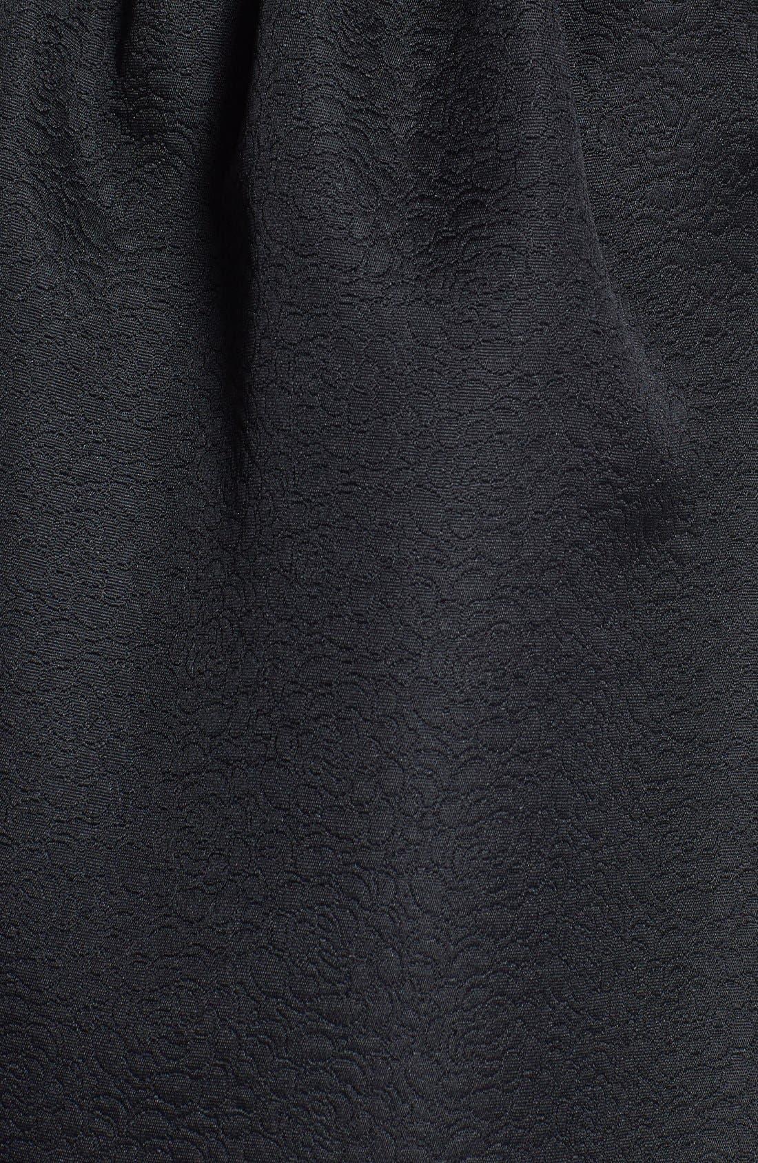 Alternate Image 3  - Everly Embossed Fit & Flare Dress (Juniors)