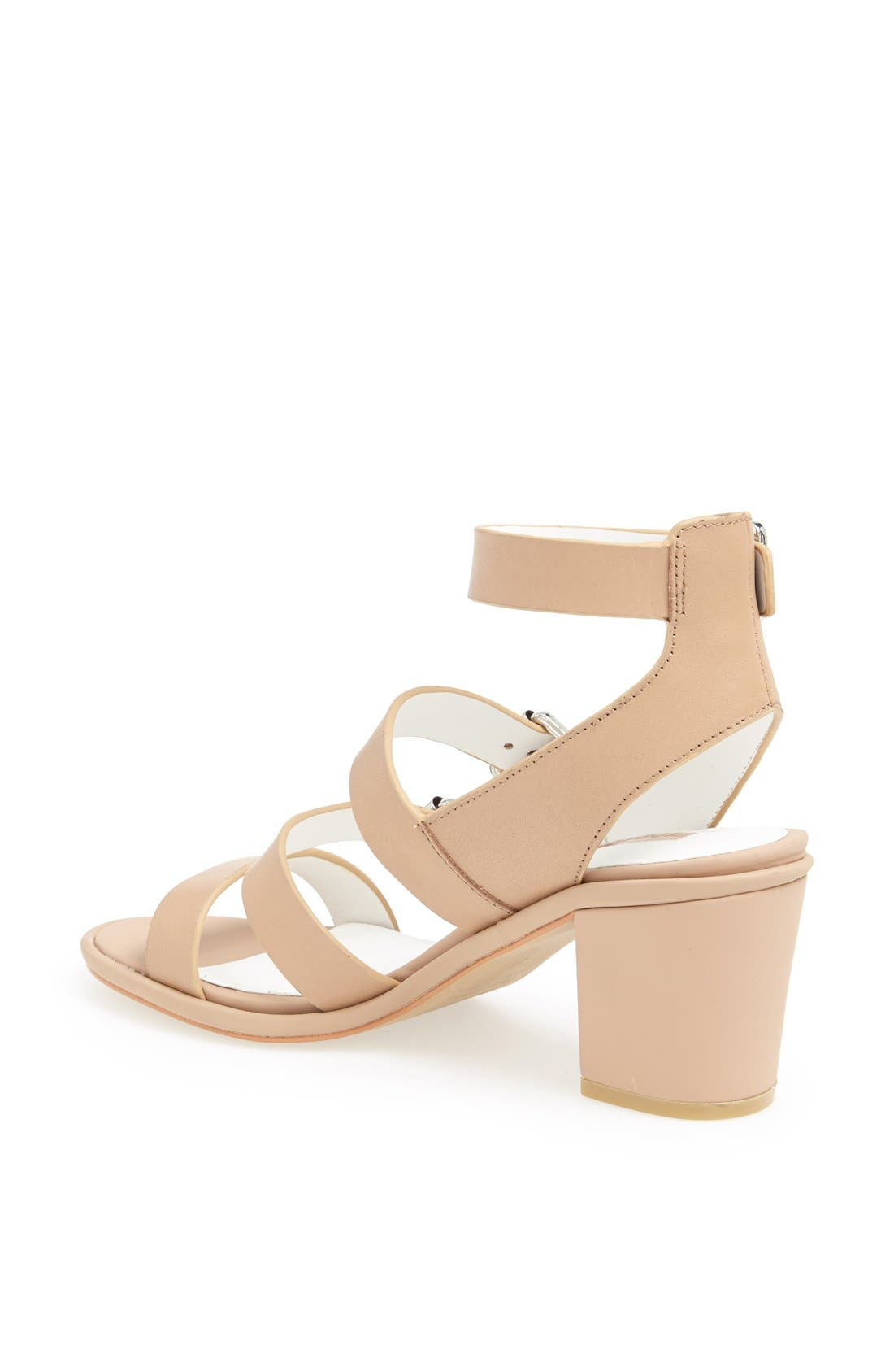 Alternate Image 2  - Topshop 'Nowhere' Mid Heel Sandal