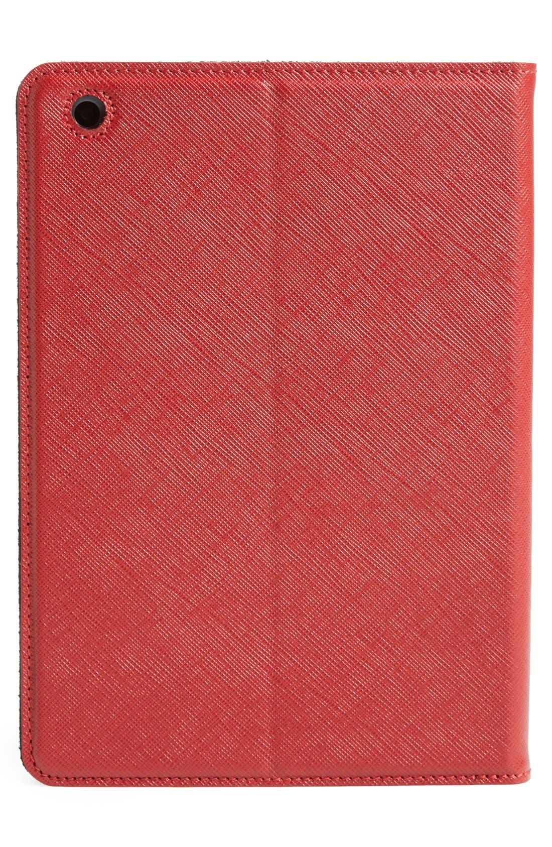 Alternate Image 5  - Salvatore Ferragamo 'Gancini' Leather iPad mini Case