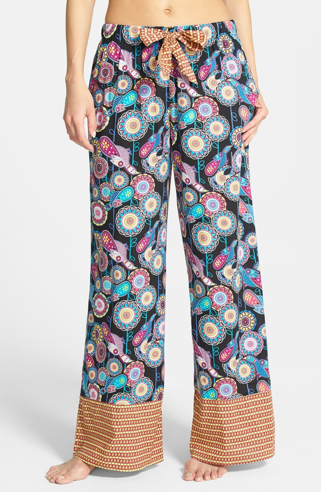 Alternate Image 1 Selected - Bollydoll 'Monsoon Love' Palazzo Pants