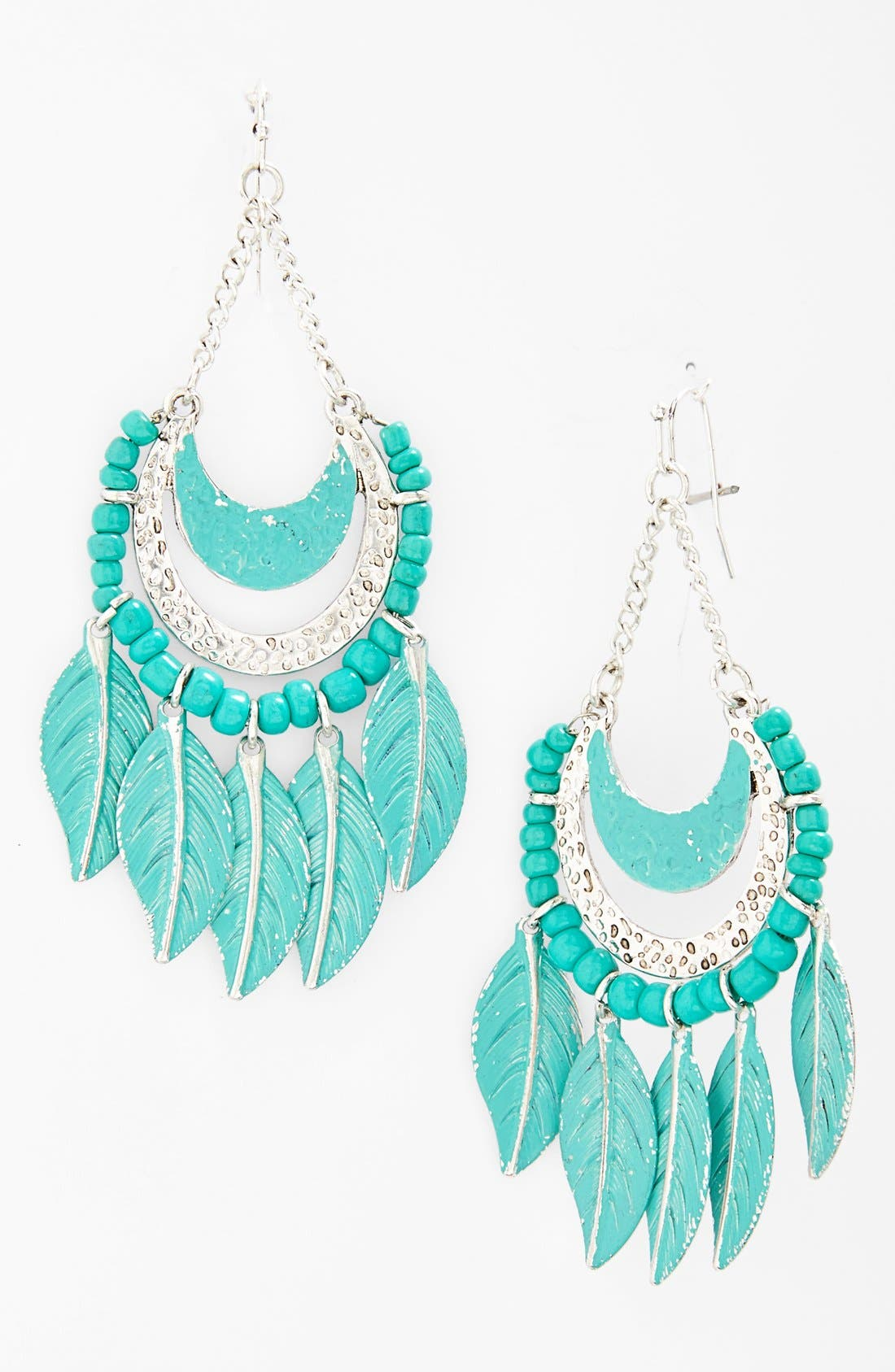 Main Image - Robert Rose Feather Earrings