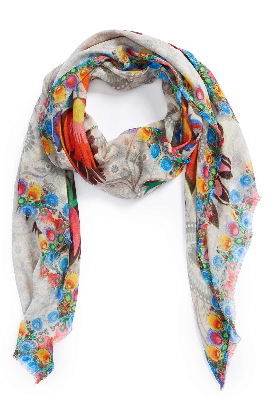 Alternate Image 1 Selected - Vismaya 'Banana Milk' Print Scarf
