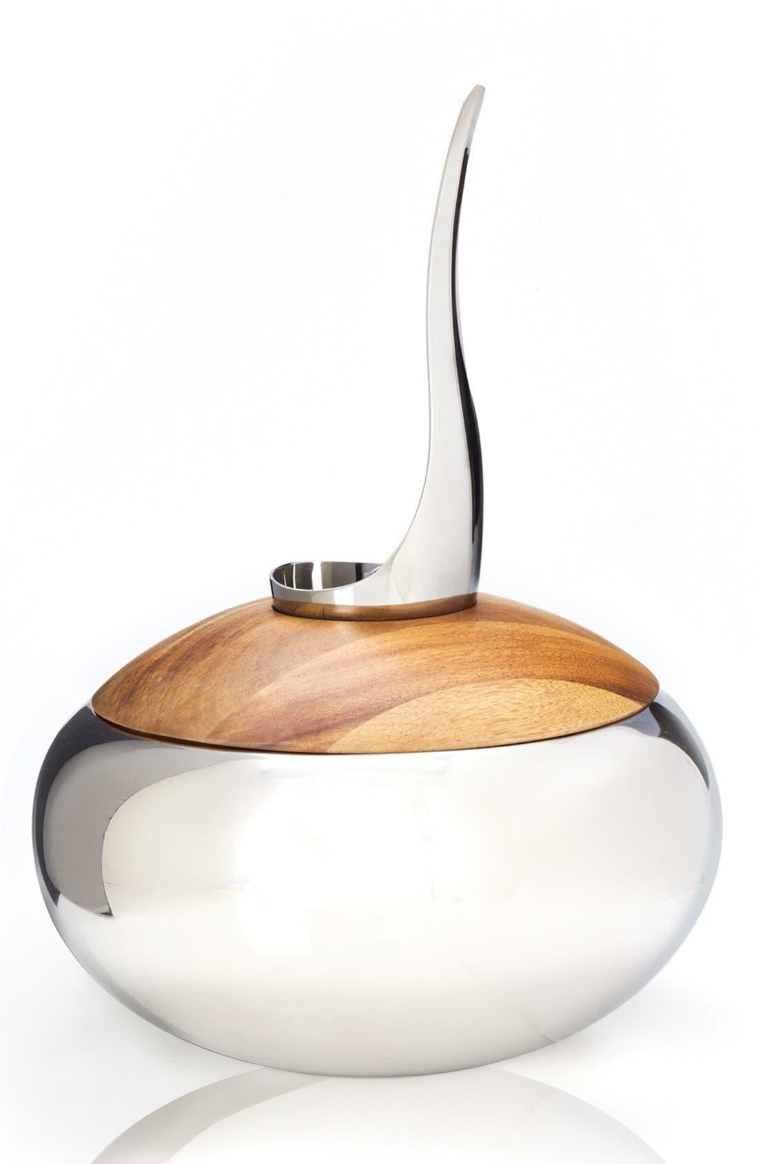 Scoop Ice Bucket,                         Main,                         color, Silver