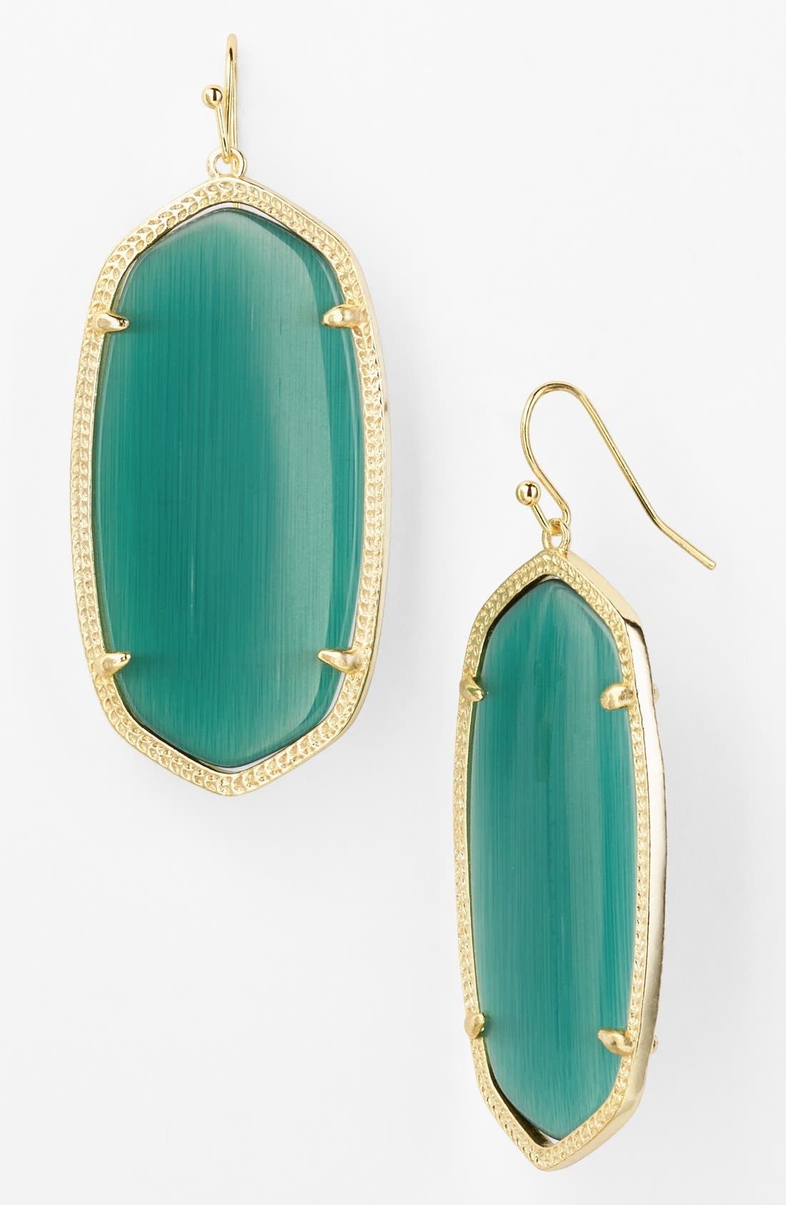 Main Image - Kendra Scott 'Danielle' Oval Statement Earrings