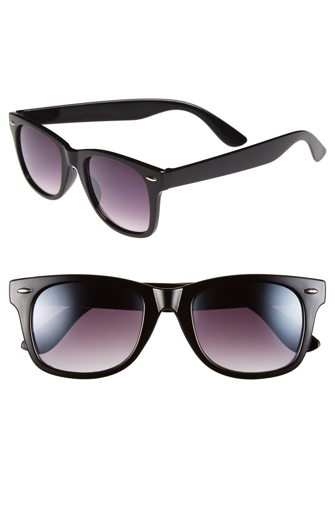Alternate Image 1 Selected - Icon Eyewear 59mm Retro Sunglasses