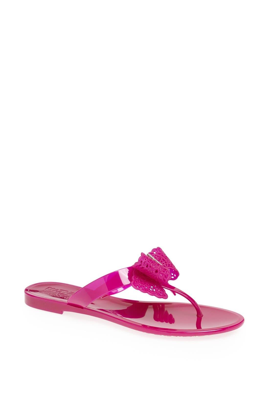 Alternate Image 1 Selected - Salvatore Ferragamo 'Pandy' Sandal