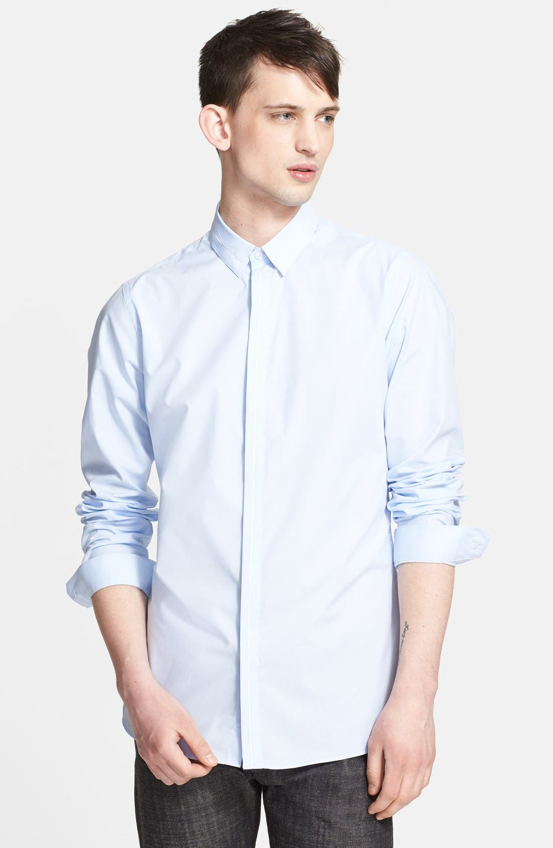 Main Image - The Kooples Fitted Dress Shirt