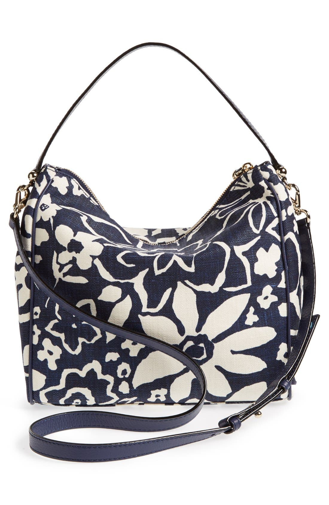 Alternate Image 4  - kate spade new york 'small haven' canvas hobo