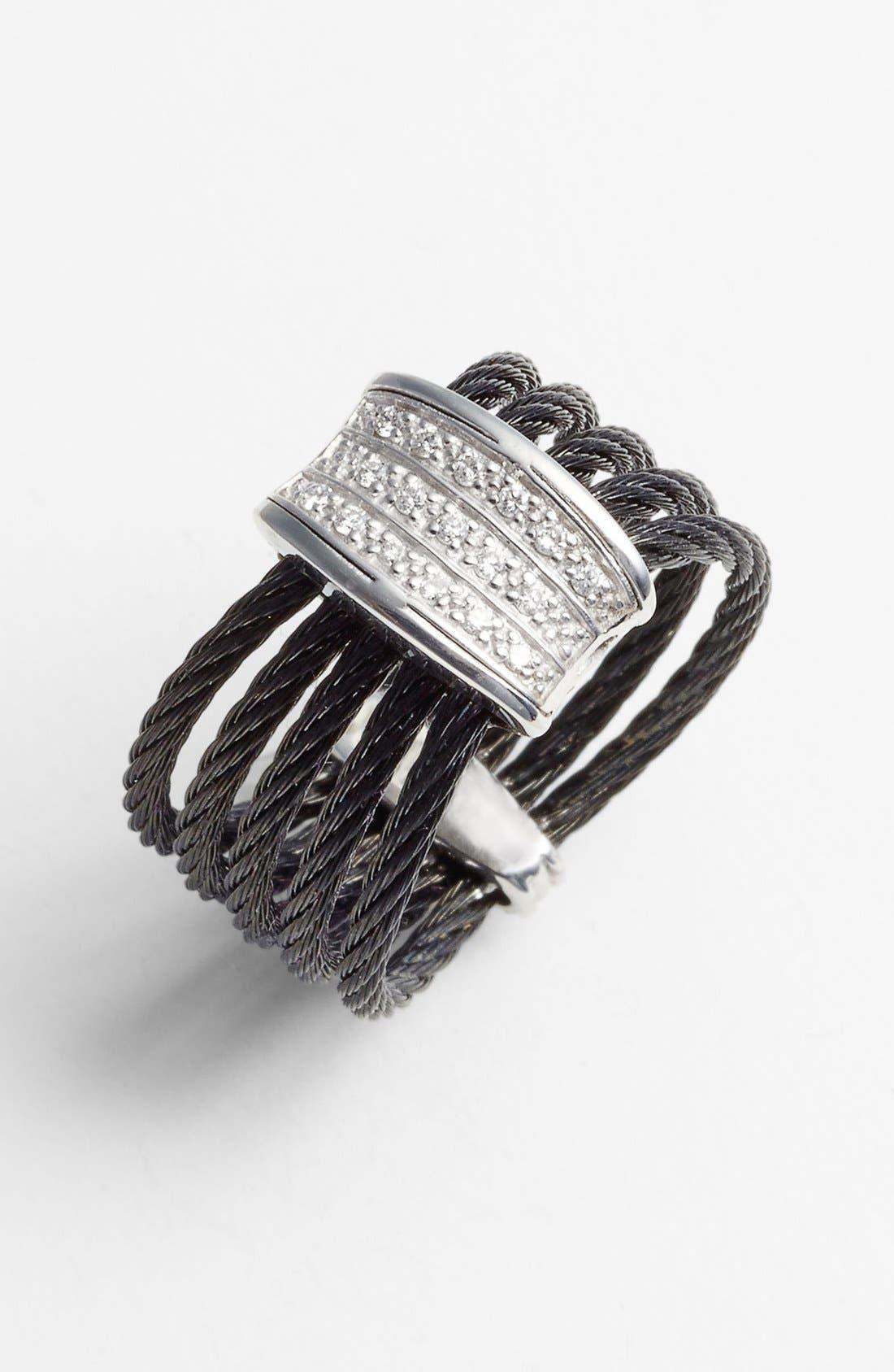 Alternate Image 1 Selected - ALOR® 5-Row Diamond Ring