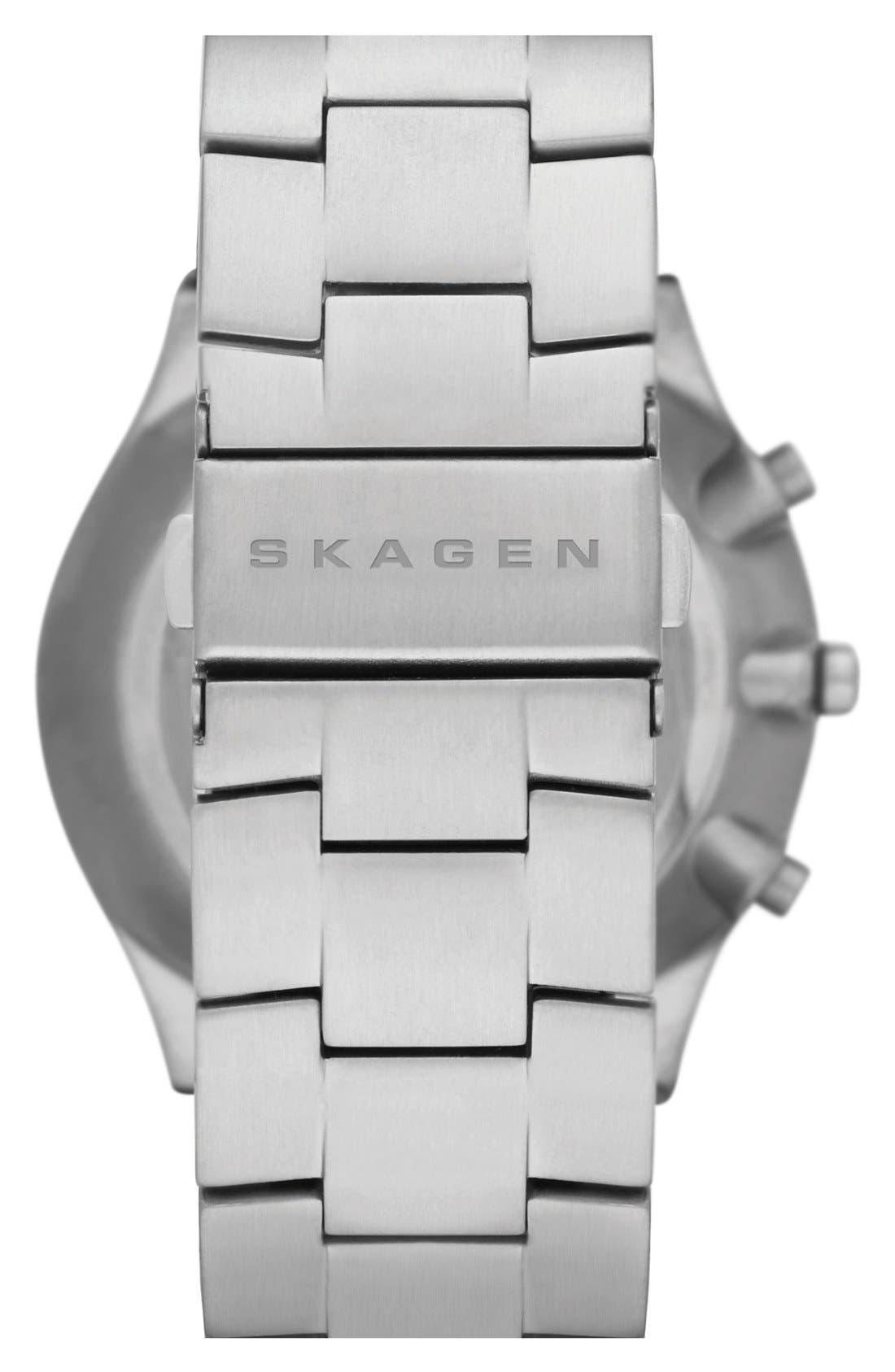 Alternate Image 2  - Skagen 'Balder' Chronograph Titanium Bracelet Watch, 42mm