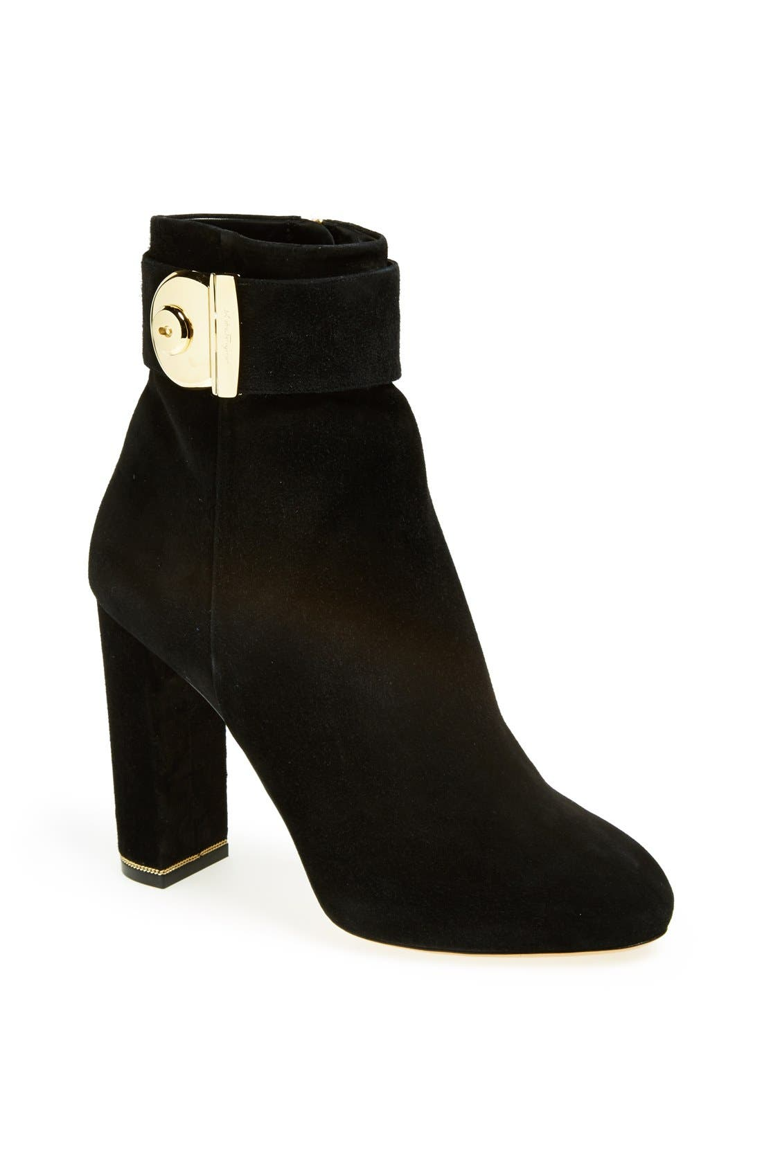 Alternate Image 1 Selected - Salvatore Ferragamo 'Negus' Ankle Boot
