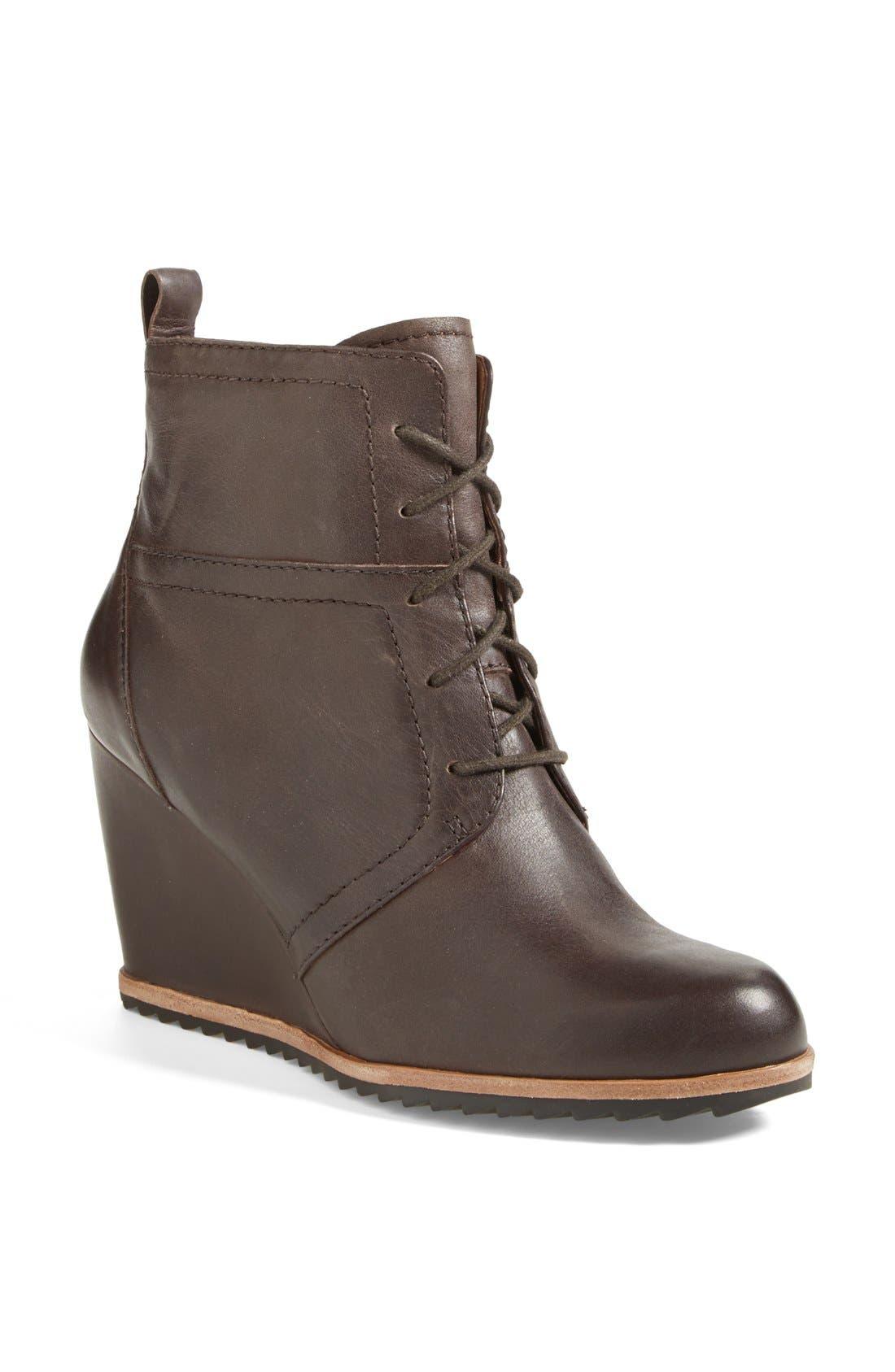 Main Image - Biala 'Alyssa' Lace-Up Wedge Boot (Women)