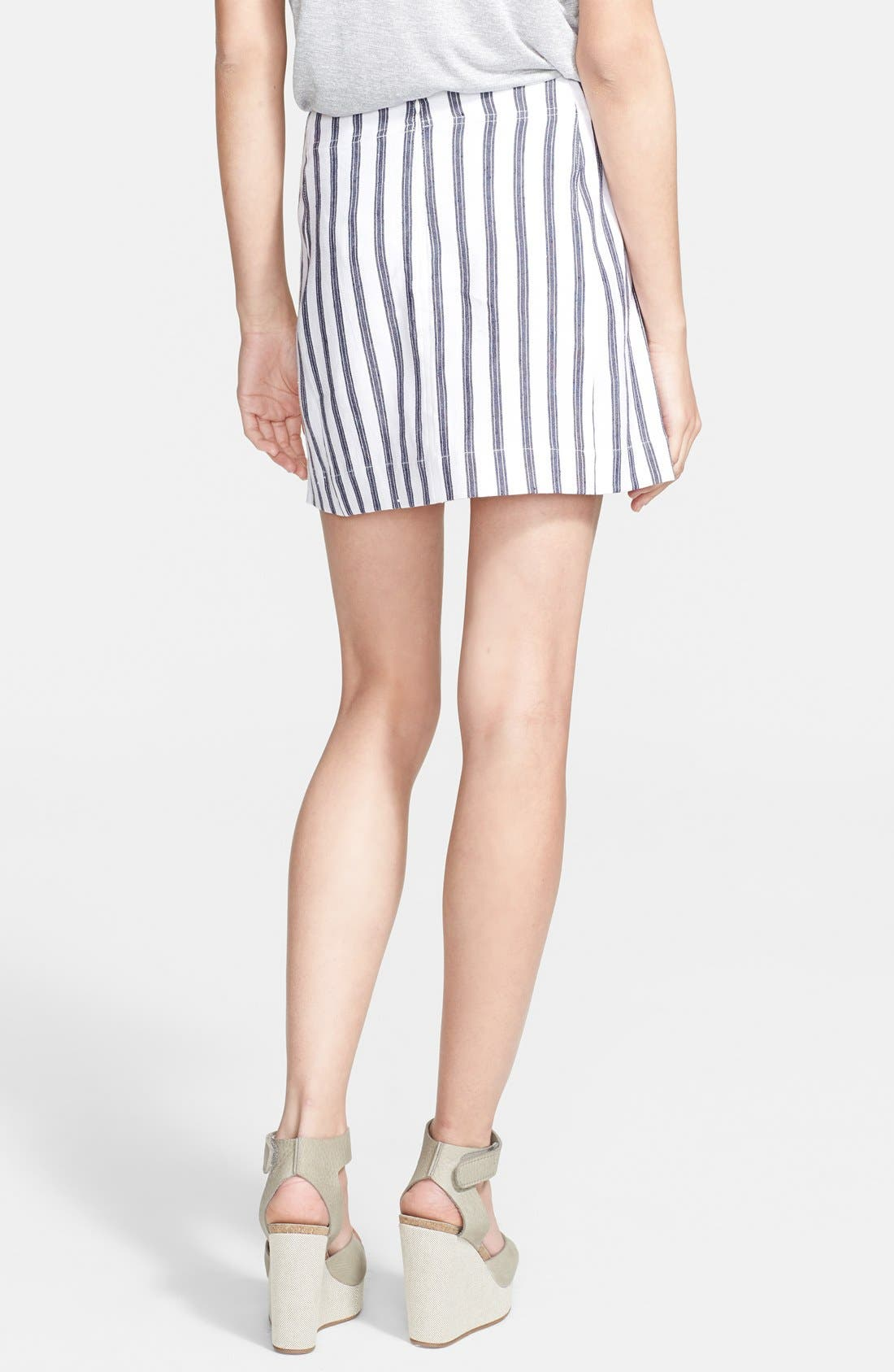 Alternate Image 2  - Theory 'Matai' Stripe Skirt