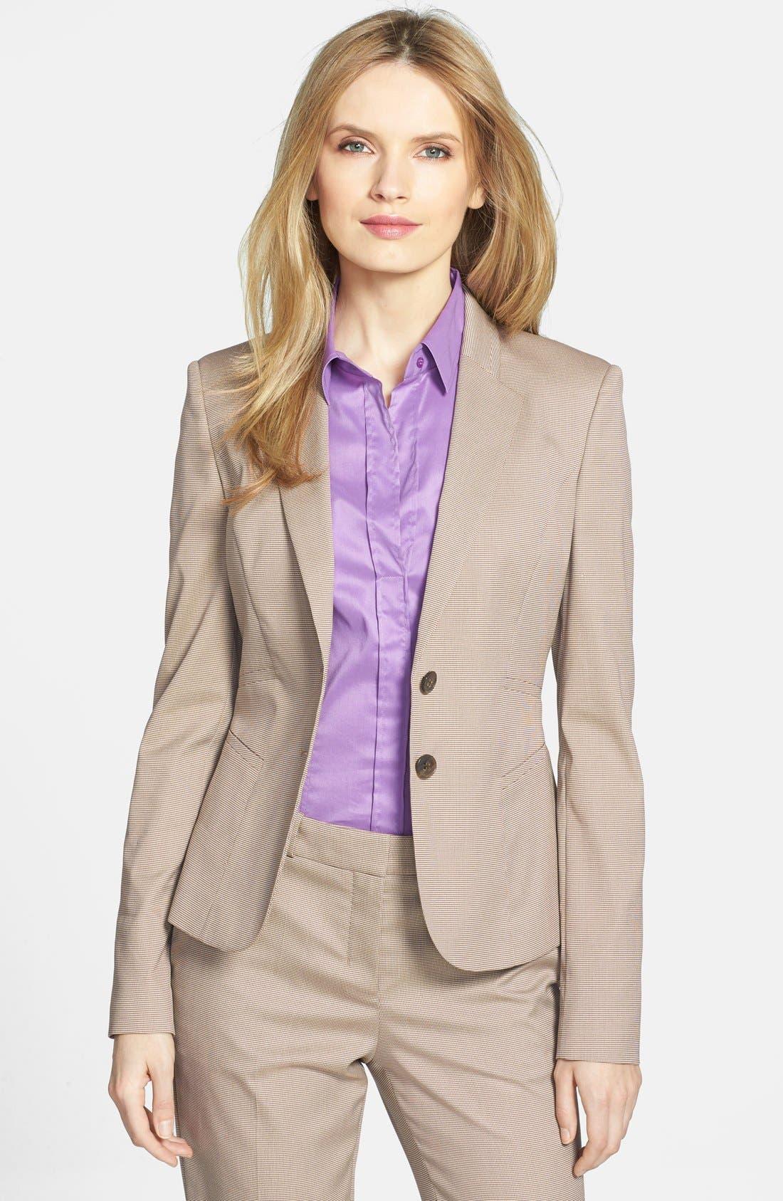Alternate Image 1 Selected - BOSS 'Jirella' Suiting Jacket