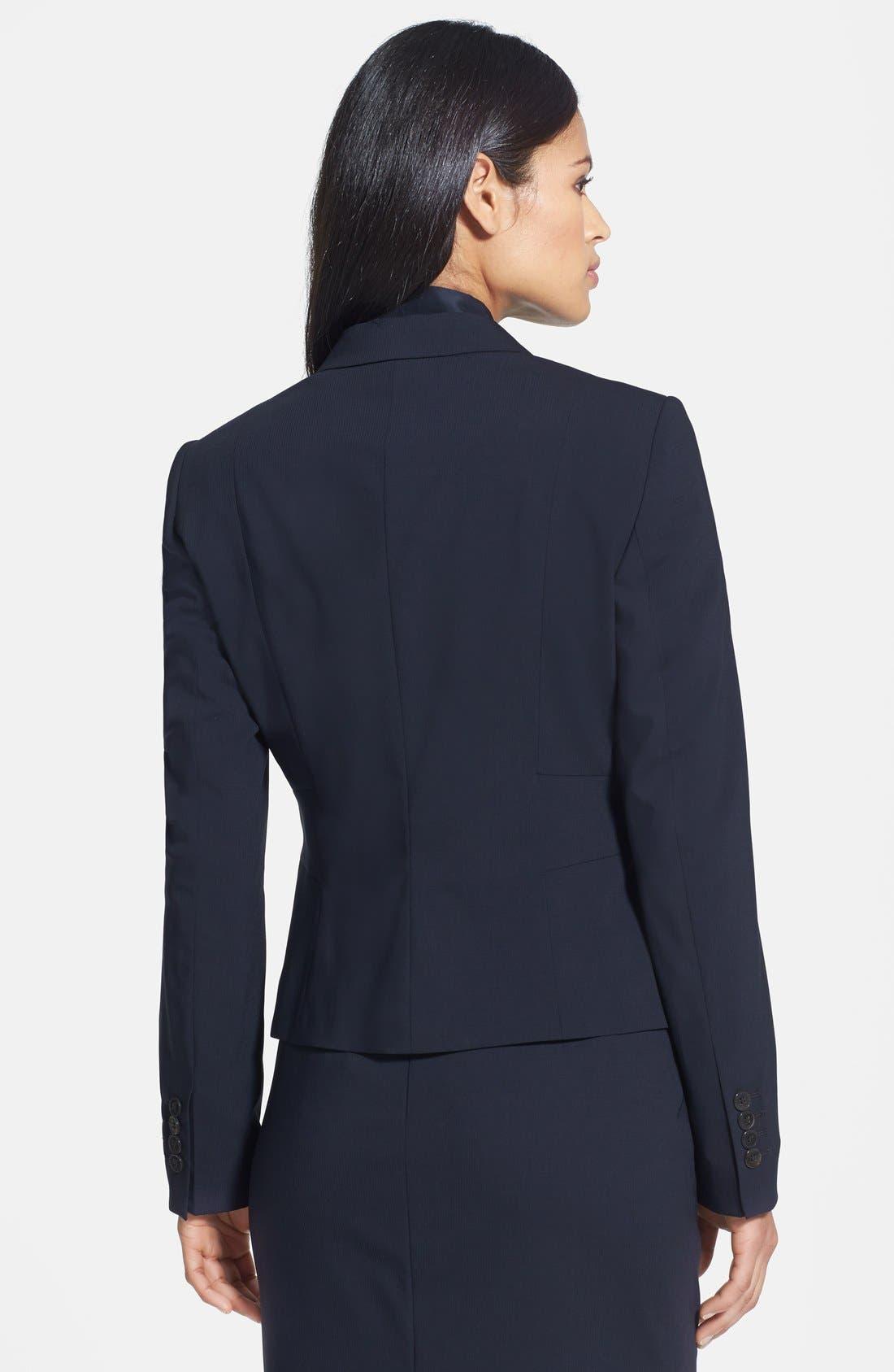 Alternate Image 2  - BOSS 'Jorila' Stretch Wool Jacket