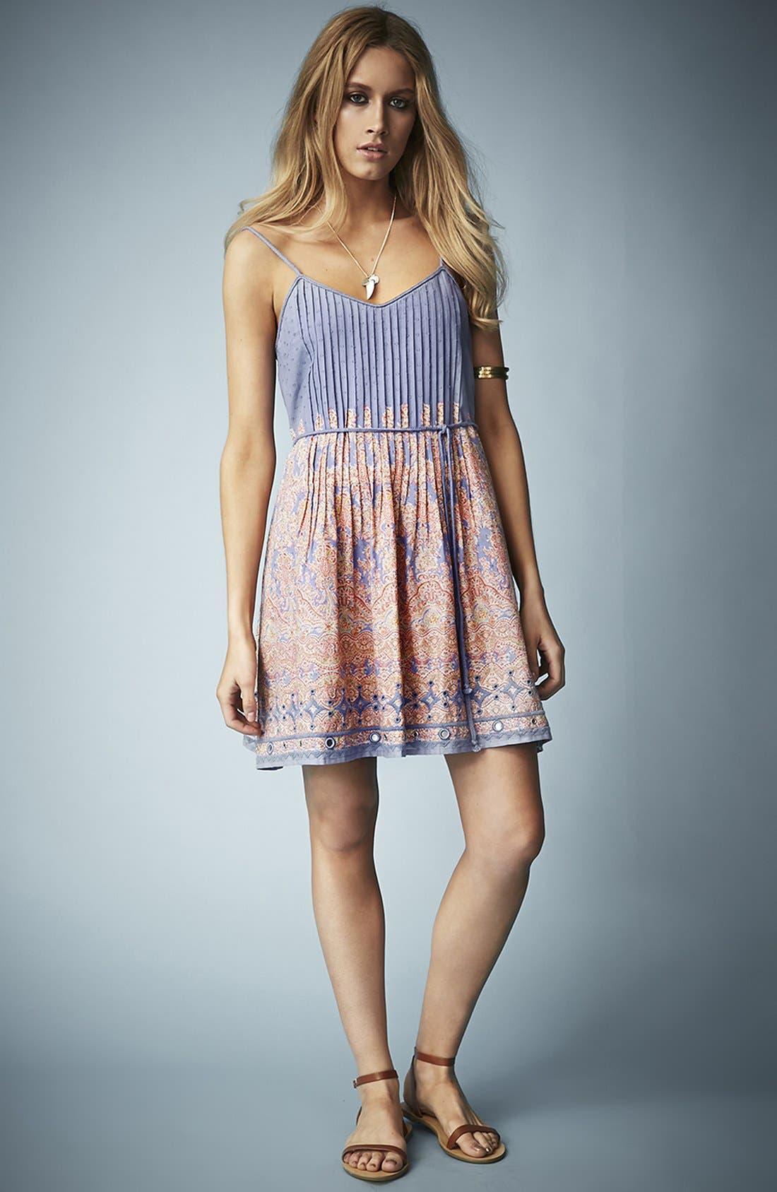 Alternate Image 5  - Kate Moss for Topshop Paisley Print Sundress