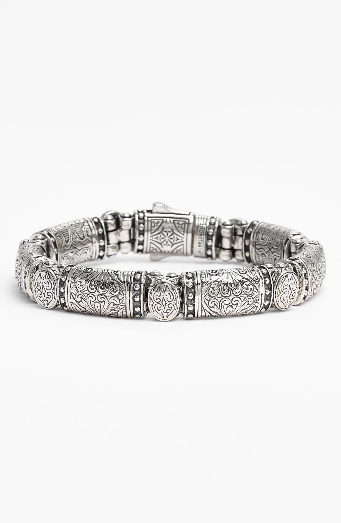 'Classics' Bar Line Bracelet,                             Main thumbnail 1, color,                             Silver
