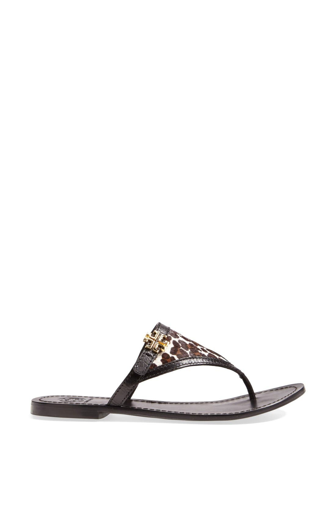 Alternate Image 3  - Tory Burch 'Eloise' Flat Thong Sandal (Nordstrom Exclusive) (Women)
