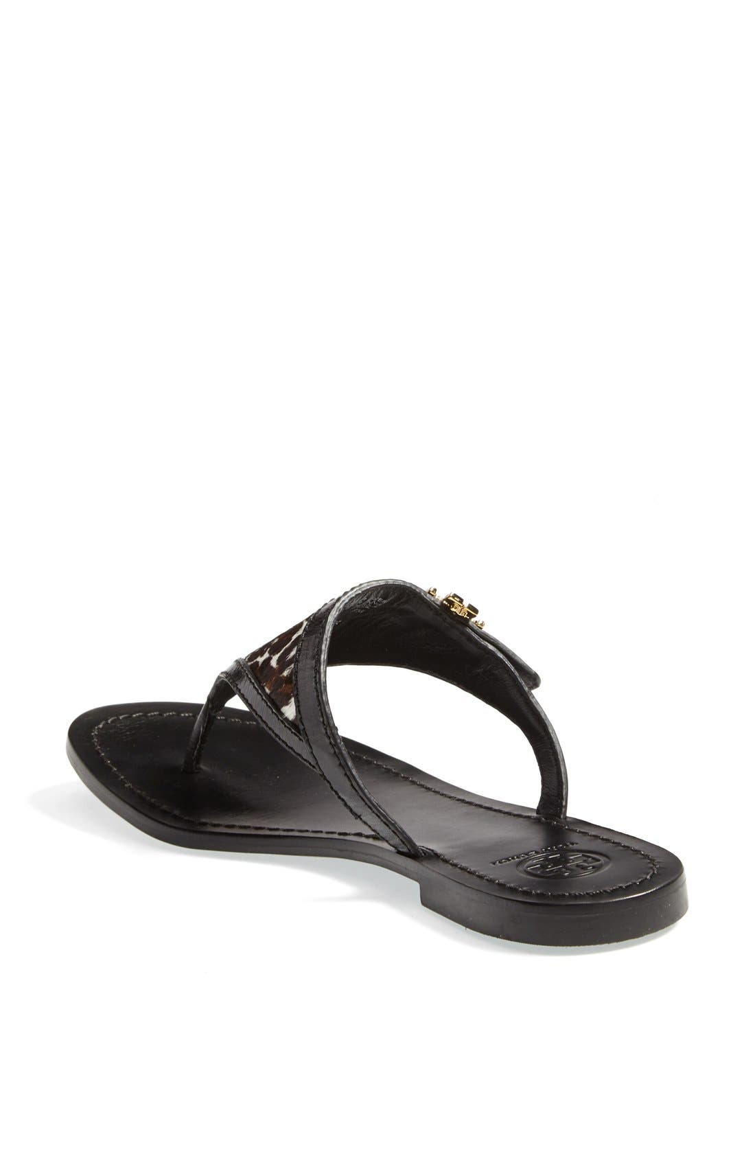 Alternate Image 2  - Tory Burch 'Eloise' Flat Thong Sandal (Nordstrom Exclusive) (Women)