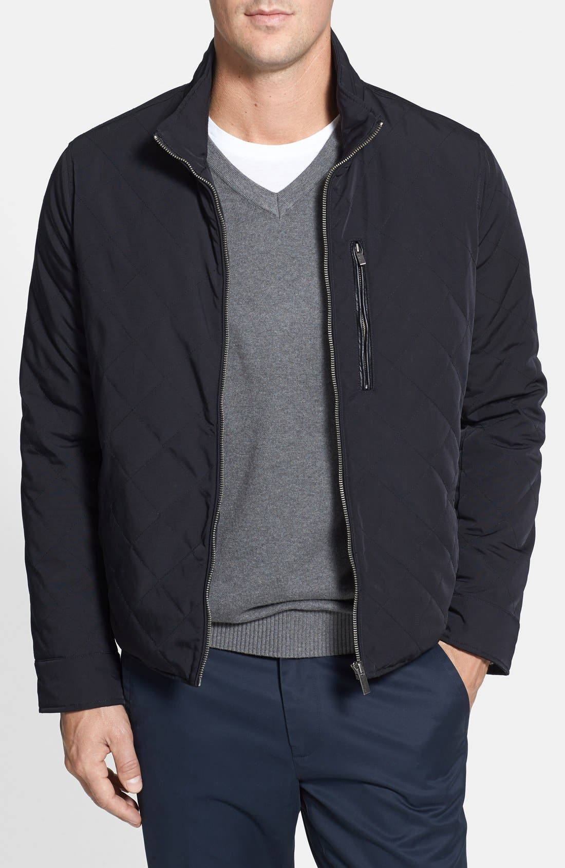 Main Image - Cole Haan Quilted Jacket (Online Only)