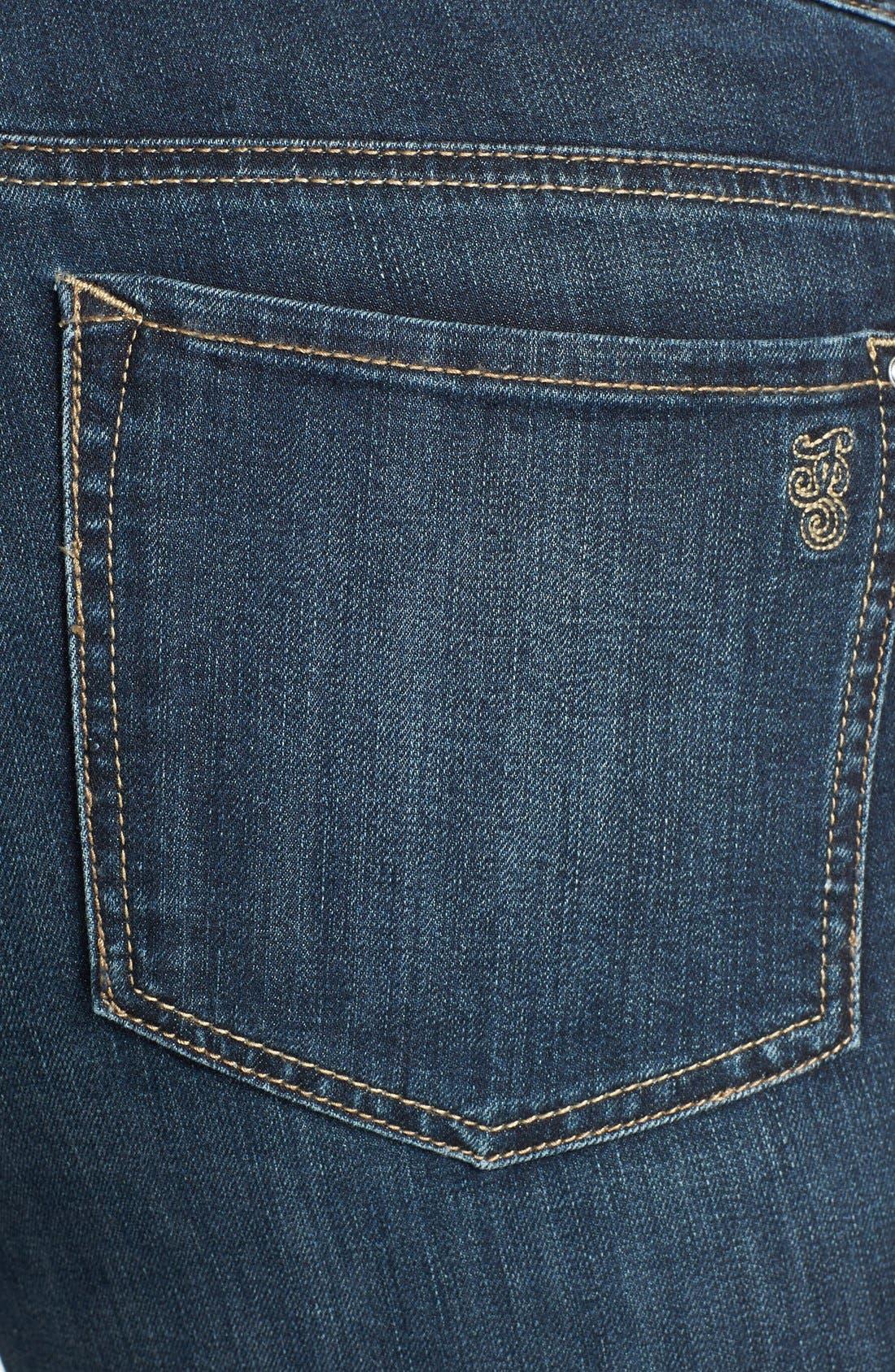 Alternate Image 3  - Jessica Simpson 'Kiss Me' Stretch Skinny Jeans (Plus Size)