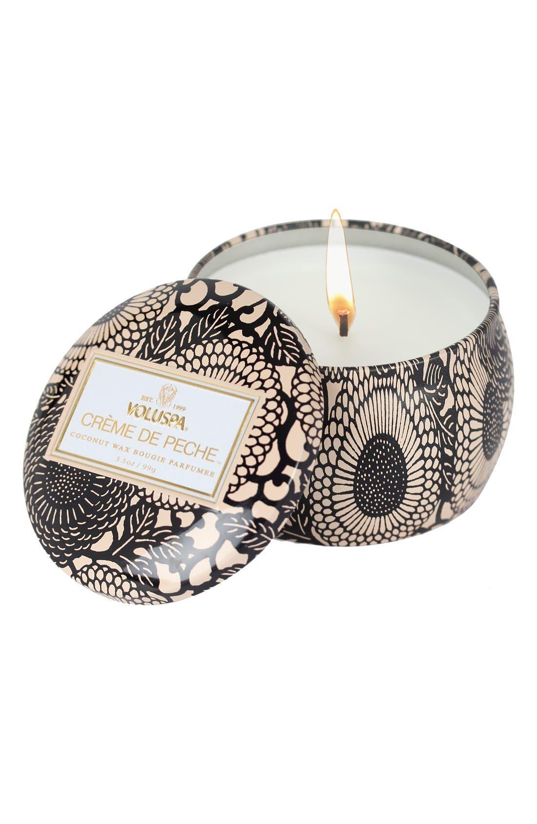 Main Image - Voluspa 'Japonica - Crème de Peche' Petite Decorative Candle