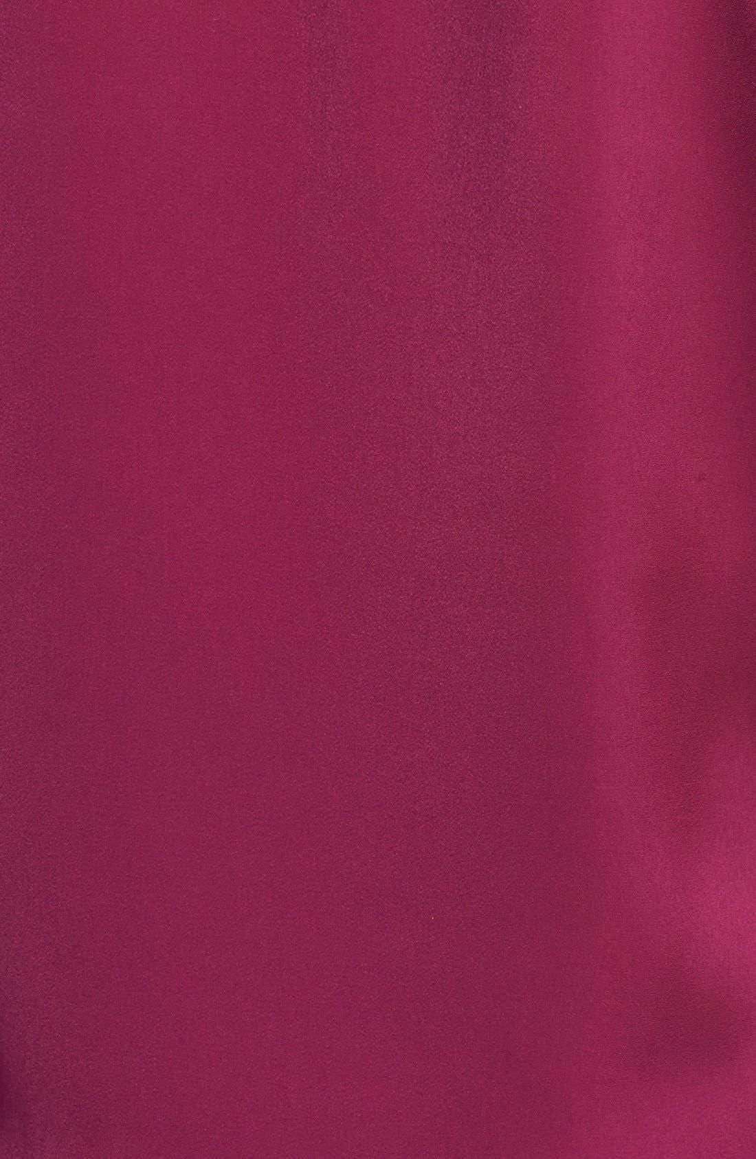 Alternate Image 3  - Halogen® Collarless Button Front Blouse