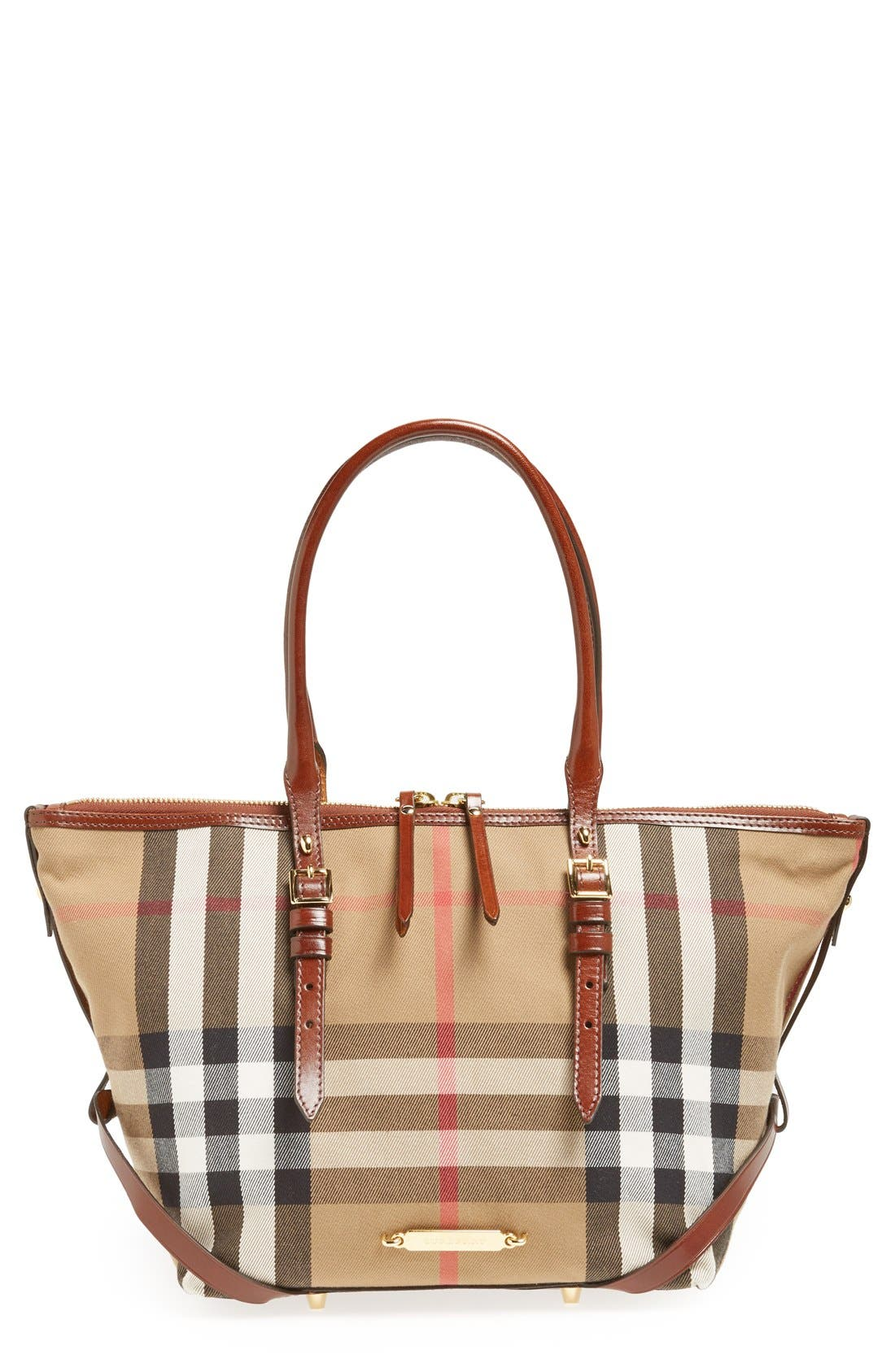 Alternate Image 1 Selected - Burberry 'House Check – Small' Tote