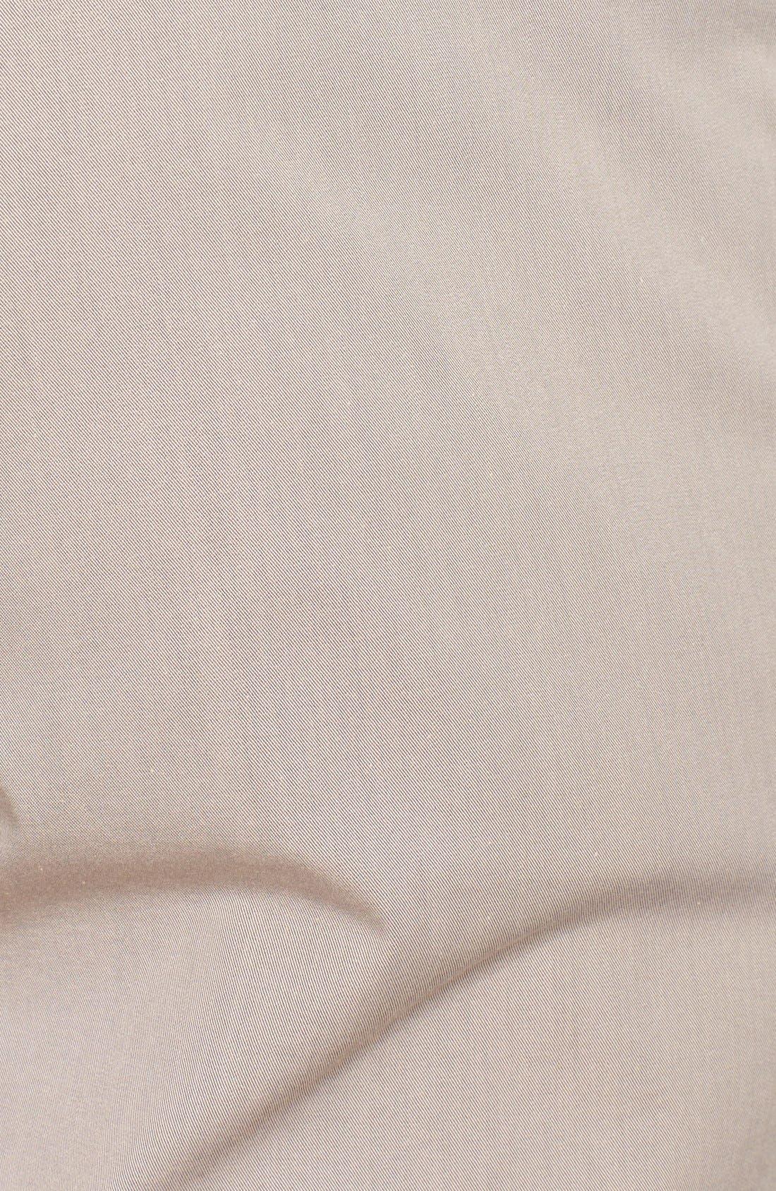 Alternate Image 3  - Canali Five Pocket Stretch Cotton Italian Pants