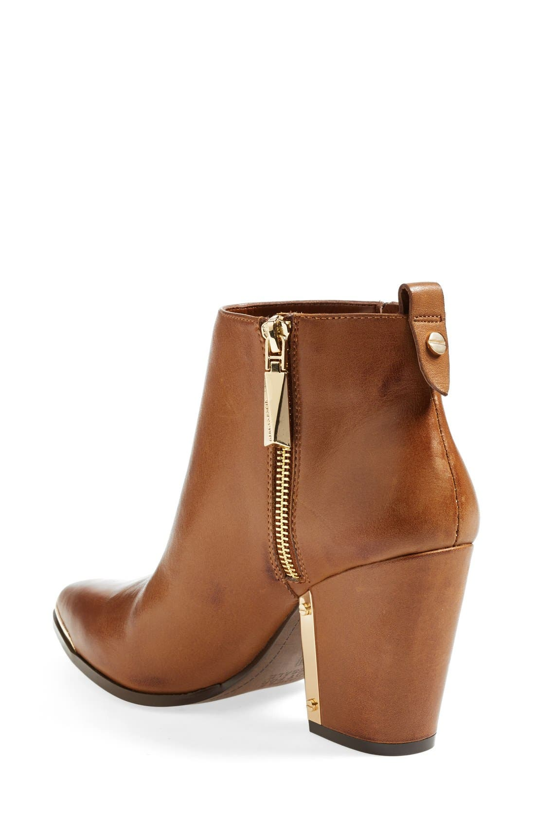 Alternate Image 2  - Vince Camuto 'Amori' Pointy Toe Leather Bootie (Women)
