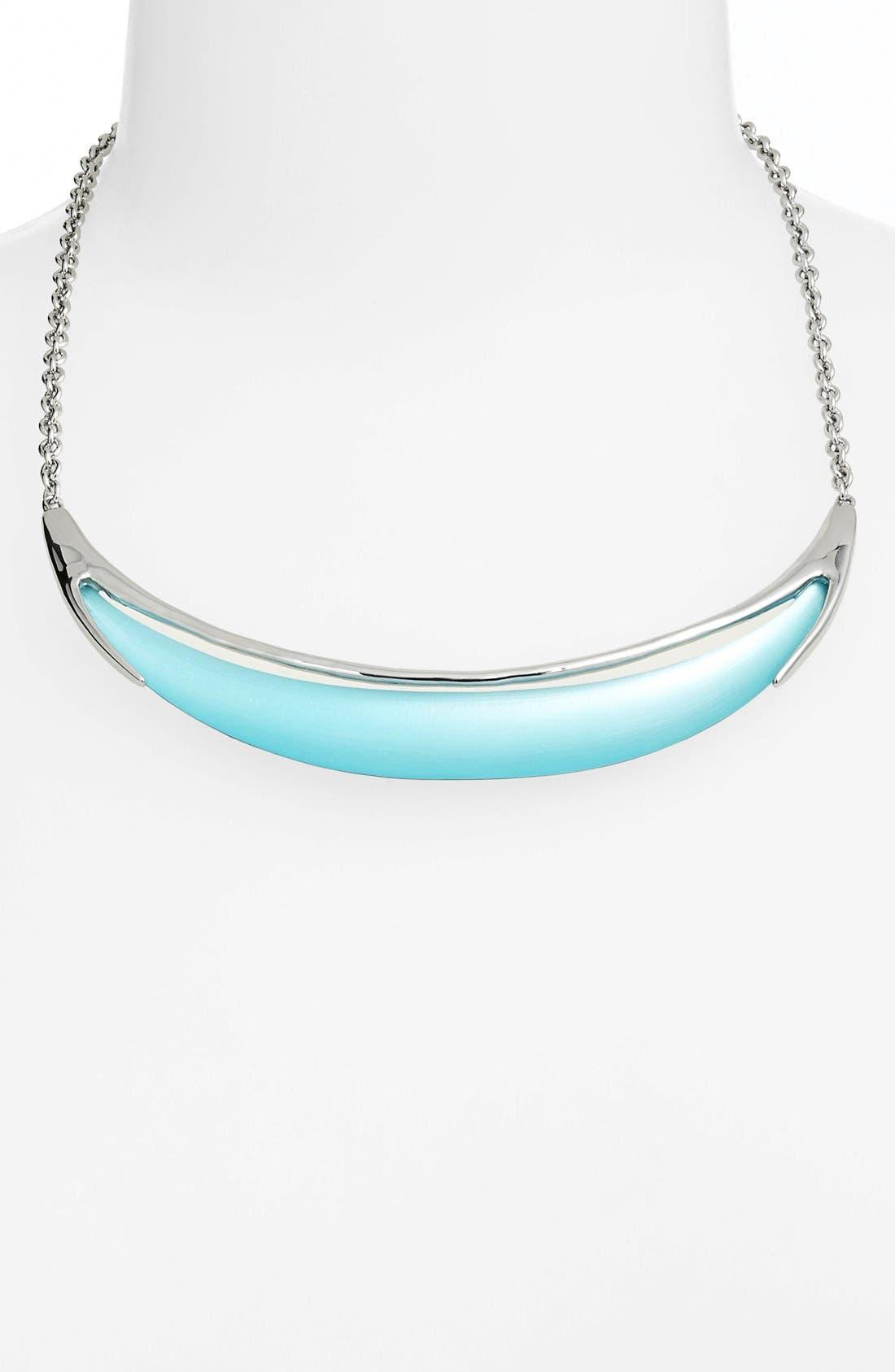 Main Image - Alexis Bittar 'Lucite® - Neon Deco' Crescent Necklace