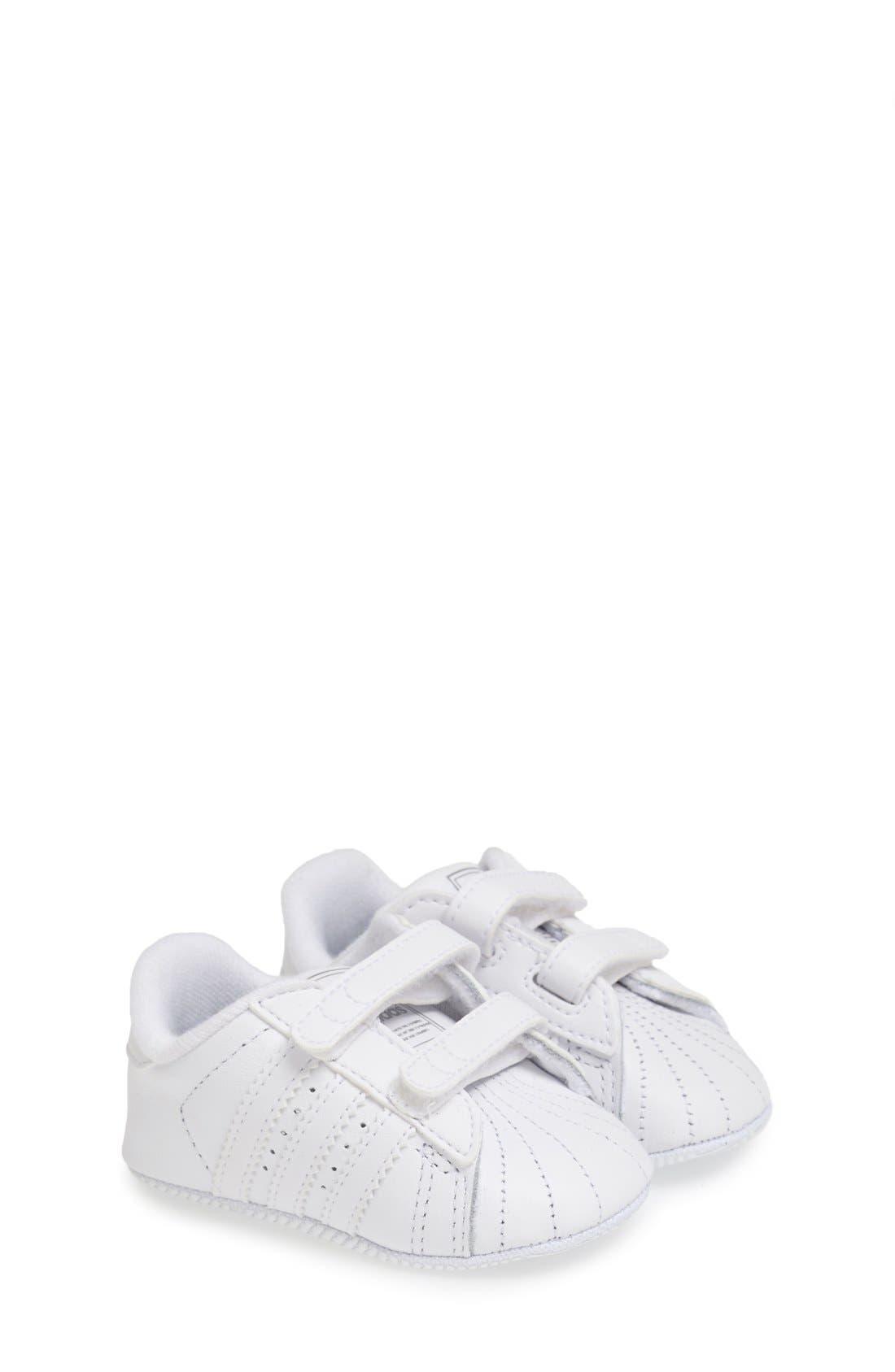 Main Image - adidas 'Superstar 2' Crib Shoe (Baby)
