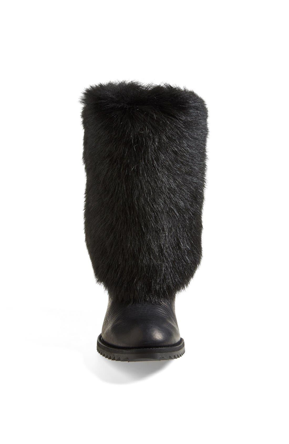 Alternate Image 3  - Pedro Garcia 'Odette' Genuine Shearling & Leather Boot (Women)